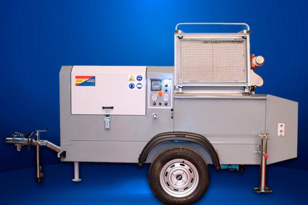 Máquina para proyección de gunite